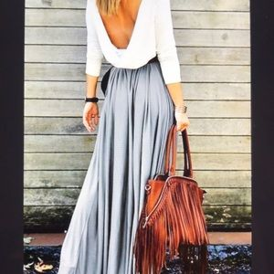 Dresses & Skirts - Brand New Women's Fashion Solid High Waisted Skirt